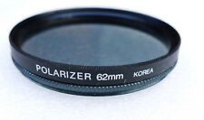 62mm Samigon Linear POLARIZER Filter - NEW