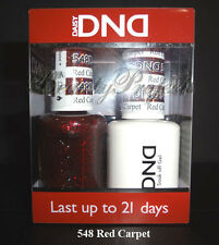 DND Daisy Soak Off Gel Polish Red Carpet 548 full size 15ml LED/UV gel duo