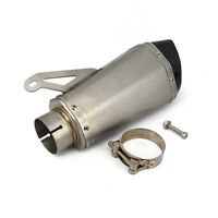 61mm Motorcycle Exhaust System Muffler Pipe For BMW S1000 S1000RR 2010 2011-2014