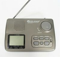 Midland S.A.M.E. FM Weather Radio 74-210 Battery Operated (No AC) RARE