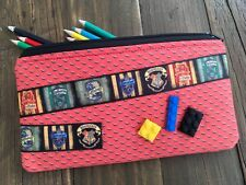 Handmade Kids Fabric Harry Potter Lego inspired Pencil Case ideal for school