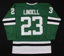 Esa Lindell Signed Dallas Stars Jersey 2012 – present ~ Beckett COA Authentic! ~