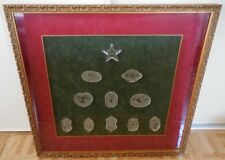 Joys of Winter Collection by Waterford Framed Crystal Ornaments Set of 11 RARE