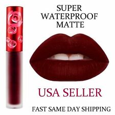 Waterproof Long Lasting Lip Liquid Matte Lipstick Makeup Lip Gloss Wicked