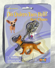 TACO BELL CHIHUAHUA dog keychain key chain Fun 4 all New in Pkg advertising