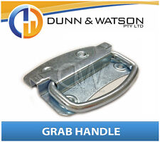 Zinc Plated Chest Lock / Handle / Latch (Camper Trailer Canopy Caravan)
