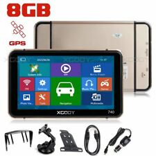 "XGODY 8GB Car Auto 7"" Portable GPS Navigator w/ Lifetime 2D 3D Maps & Speedcam"