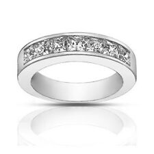Diamond Wedding Band Ring 1.50 ct Ladies Princess Cut