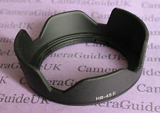 HB-45 II Lens Hood For Nikon AF-S DX NIKKOR 18-55mm F/3.5-5.6G VR Black