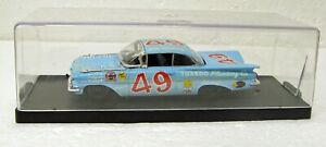 NASCAR Stock car 1959 Chevrolet Impala Bob Welborn 1/43 Quartzo Portugal MB