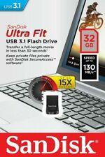 SanDisk Ultra Fit 32 GB 3.1 USB-Stick - SDCZ430-032G-G46 - Schwarz