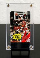 """1988 Fournier Estrella Michael Jordan """"Estrellas NBA"""" Rules Card."""