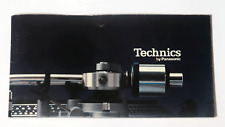 VTG 1976 TECHNICS CATALOG PANASONIC ELECTRONICS TURNTABLE RECEIVER