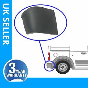 FOR Ford Transit Connect rear bumper corner end caps with clips / right side