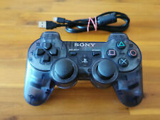 orig. SONY PLAYSTATION 3 CONTROLLER transparent grau ► PS3 DUALSHOCK ◄ SEHR GUT
