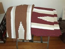 Saddle blankets Heartland brand Navajo. Nice saddle blankets. Two to choose from