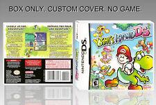NINTENDO DS : YOSHI'S ISLAND DS. ENGLISH. COVER CUSTOM + ORIGINAL BOX. (NO GAME)