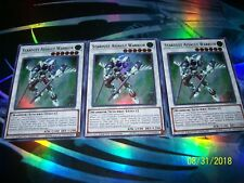 3x Stardust Assault Warrior Limited Edition Ultra Rare CT15-EN008 Yu-Gi-Oh!