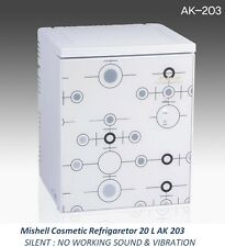 NEW Mishell Cosmetic Refrigerator 20 L AK 203 Silent Design & Smart Temp Control