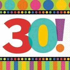 30th Wedding Anniversary Napkins