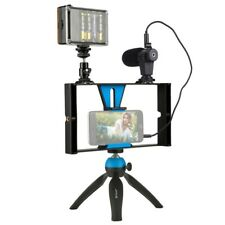 PULUZ Live Broadcast LED Selfie Light Smartphone Video Rig Kits For Samsung Sony
