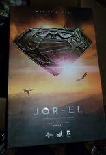 Hot Toys Man of Steel Jor-El 1:6 Scale Figure Mint MISB Sideshow Sealed Box New