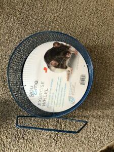 "NEW You & Me Hamster Gerbil Rat Guinea Pig Chinchilla Exercise Wheel, 8.75"""