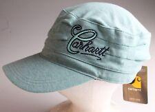 8e5049c90e496 NWT Carhartt Womens Cotton Moisture Wicking Everton Cap Hat Seafoam Green