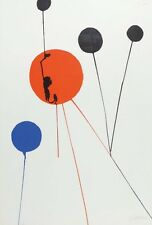 ALEXANDER CALDER Lithograph Signed & Numbered Edition of 75,  43.3 In X 29.52 In