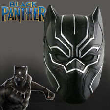 BLACK PANTHER LATEX MASK Halloween, Movie, Avengers, Costume, Party, Fancy Dress