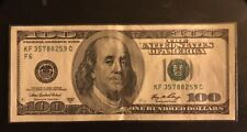 2006 A Series $100 One Hundred Dollar Bill Federal Reserve Note