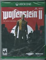 🔥🔥🔥 Wolfenstein II: The New Colossus (Microsoft Xbox One, 2017) New. 🎮🎮🎮