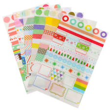 Diary Book Album PVC Scrapbook Planner Useful Korea Simple Life  Stickers Paper