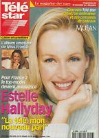 Télé Star Nr. 1156 -23/11/1998- Estelle Hallyday - Edwige Feuillère - Richard
