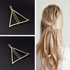 2X Women Korean Style Triangle Hairpin Hair Clip Hair Accessories Bobby Pins SW