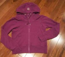 LULULEMON FREE TO BE HOODIE SIZE 8 IN POTION PURPLE FRENCH TERRY with thumbholes