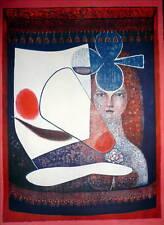 HORAK BOHUSLAV lithographie signée numérotée art abstrait abstraction USA CZECH