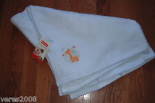 Fisher Price Blue Graffe Security Blanket Lovey New with tags