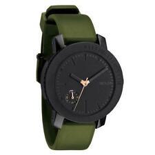 Nixon A3171089 Women's The Raider Black Dial Green Silicone Rubber Strap Watch