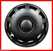 "4x16"" Wheel trims for VW GOLF CADDY CRAFTER SHARAN T5  black matt"