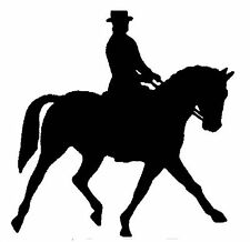 DRESSAGE HORSE STICKER DECAL BRAND NEW FOR CAR, FLOAT, TACK BOX, 4WD, UTE