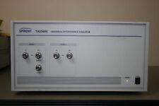 Spirent TAS5600W Universal Interference Emulator, WCDMA option, 30 day Warranty