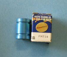 Pacific Bearing - Frelon Gold - Model #FMT14, Linear Bearing, 14mm Bore - NEW