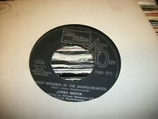 "JIMMY RUFFIN- WHAT BECOMES OF THE BROKENHEARTED VINYL 7"" 45RPM p"