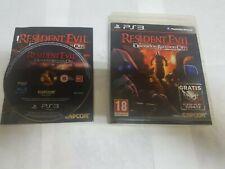PS3 Resident Evil Operation Raccoon City primera edición española Capcom