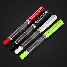 4pcs LANBITOU 3059 Iridium Point Fine Nib Piston Fill Fountain Pens Set Of 4