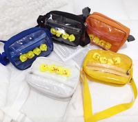 Japanese Harajuku Girls Clear Handbag Transparent Itabag Shoulder Crossbody Bag