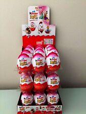 12 Kinder JOY - * GIRLS* -Surprise Eggs, Ferrero Kinder Choclate Best Gift Toys