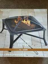 New listing Ashland Black Fire Pit 24in Foyer Square - Brand New Sealed Box Pick-Up option