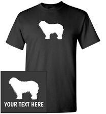 Komondor Silhouette T-Shirt, Men Women Kids Long Tank Custom Personalized Tee